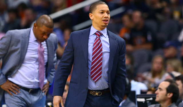 Tyronn Lue is a finalist to be the new Cavs head coach.