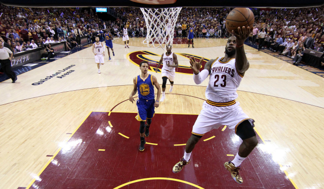 LeBron James to Cavaliers fans: 'Hopefully I was an inspiration'