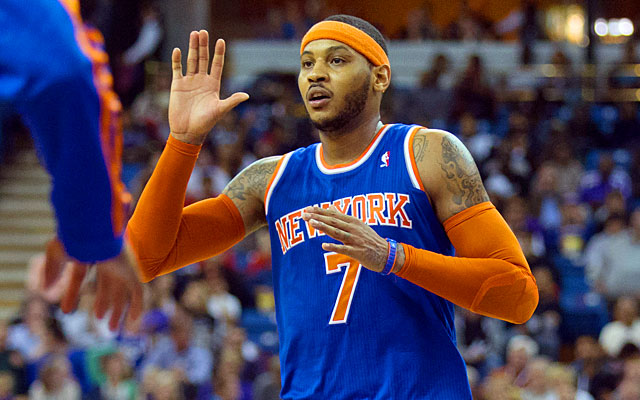 The Bulls could have the inside track for Carmelo Anthony if the Knicks star opts to move on.  (USATSI)