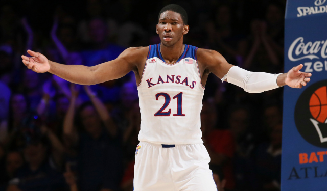 Joel Embiid's injury changes everything at the top of the draft.