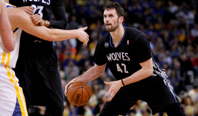 Kevin Love is reportedly not going to Golden State, for now at least.