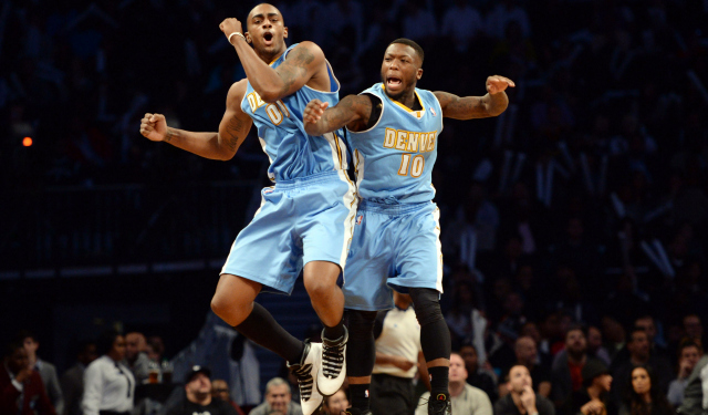 Nate Robinson and Darrell Arthur are still Nuggets.