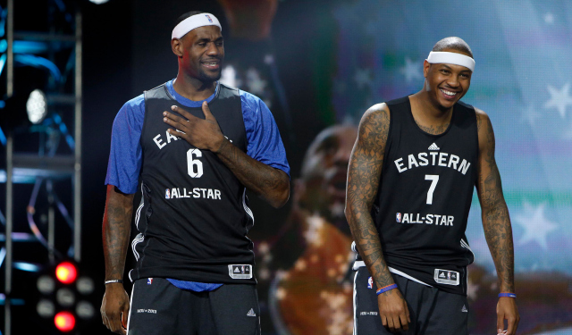 LeBron James and Carmelo Anthony are good friends -- could they be teammates?