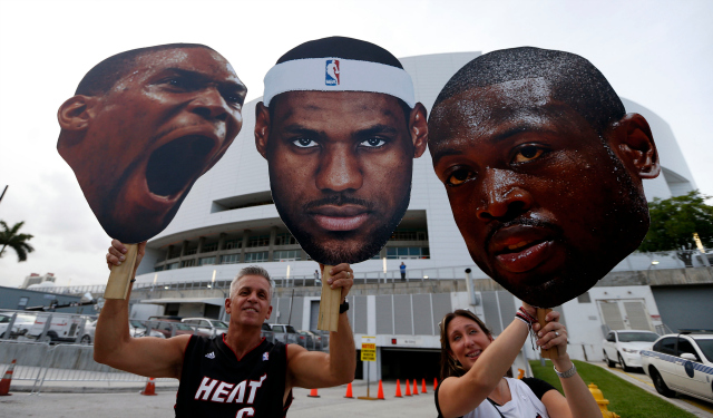 The Big Three can all become free agents next week.