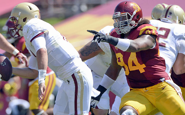 Leonard Williams tallied 74 tackles, including 13.5 for a loss and six sacks in 2013. (USATSI)