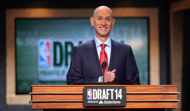 Adam Silver might have a significant change in store for the draft.