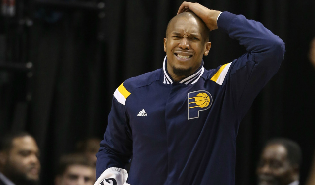 David West is reportedly destined to be a Knick.  (USATSI)