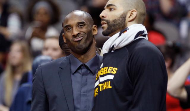Kobe Bryant isn't here to make friends.  (USATSI)
