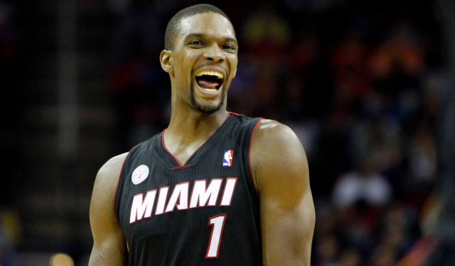 Chris Bosh is set to become a free agent.