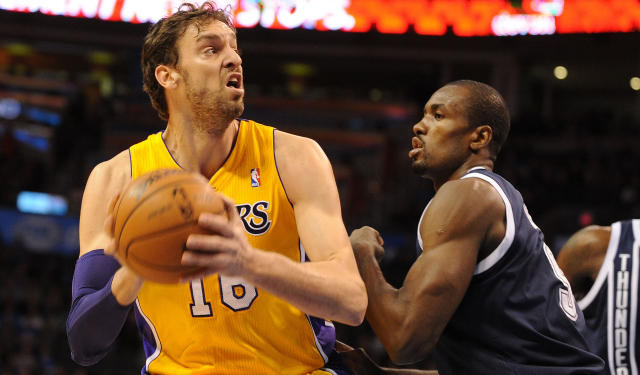 Pau Gasol will meet with Oklahoma City, among other teams.