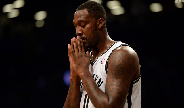 It looks like Andray Blatche is done with the Nets.