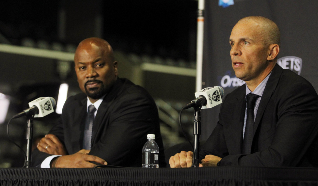 Billy King and Jason Kidd, just a year ago.