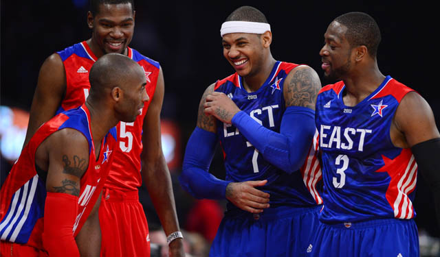 Can Kobe convince Carmelo to be his teammate?
