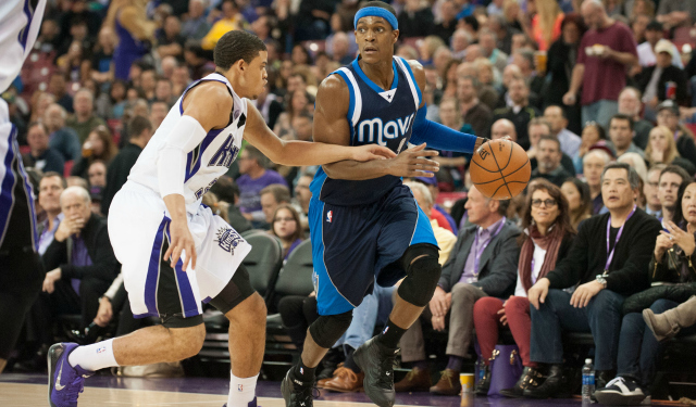 Rajon Rondo is going to be a King.  (USATSI)
