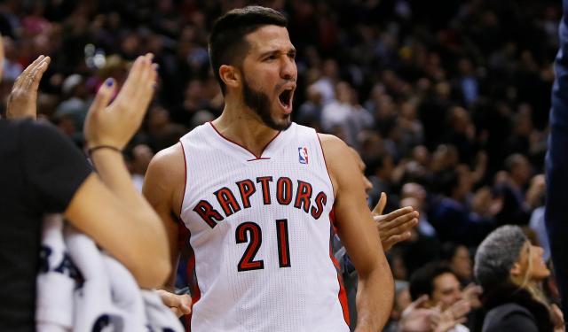 Greivis Vasquez loves Toronto.