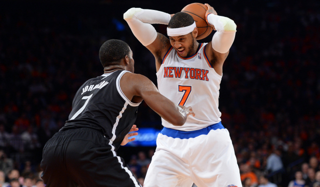 Carmelo Anthony could be coming back to New York.