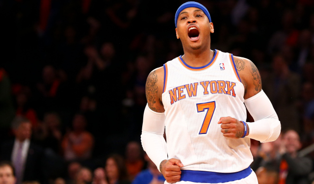 Report: Knicks consider Bulls 'only real threat' for Carmelo Anthony