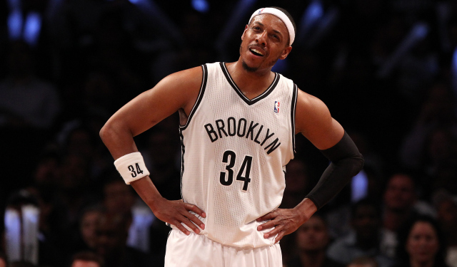 Paul Pierce is a free agent, and is being courted by the Clips.