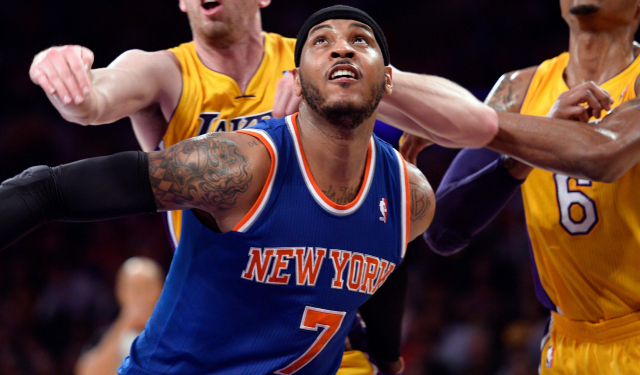 Carmelo Anthony is reportedly considering playing in Los Angeles next season.