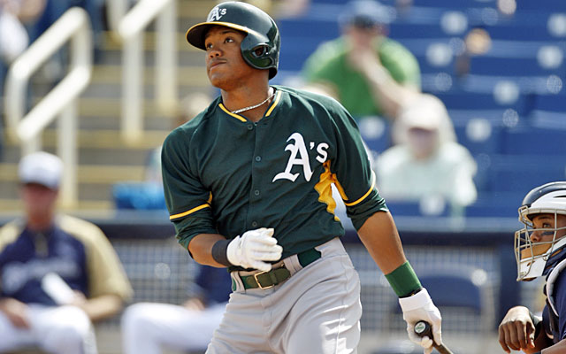 One baseball executive says Addison Russell is 'Barry Larkin with power.' (Getty)