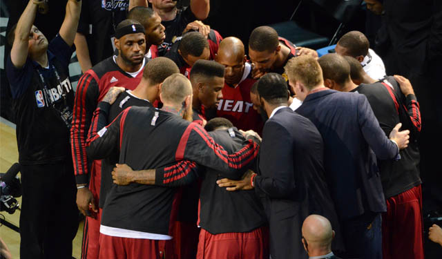 If LeBron stays with the Heat, does he have the right team with him?