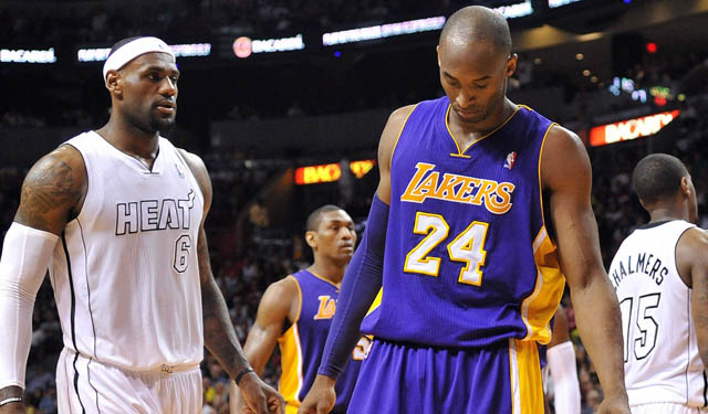 Would the Kobe and LeBron combination work right away?