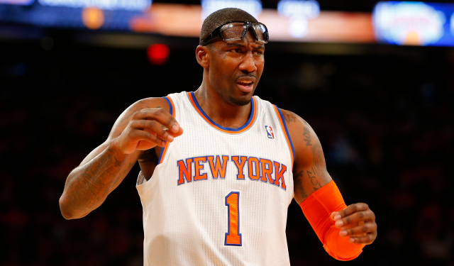 Amar'e Stoudemire is reportedly being shopped by the Knicks.