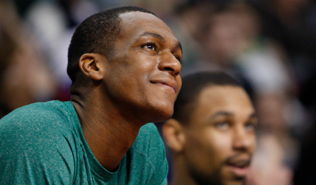 Rajon Rondo is not stirring anything up after Boston drafted Marcus Smart.
