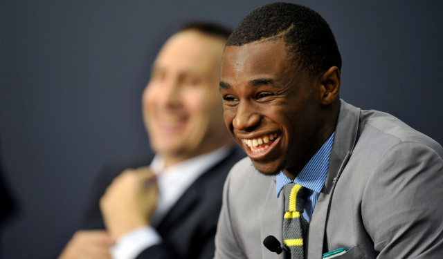 Andrew Wiggins is Cleveland's future ... unless he is traded.