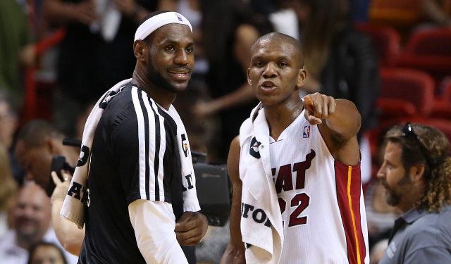 James Jones is a favorite of LeBron's.