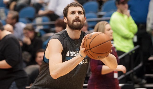 Cleveland is reportedly trying to land Kevin Love.