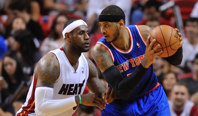 Carmelo Anthony reportedly is not waiting for LeBron James to make his decision.