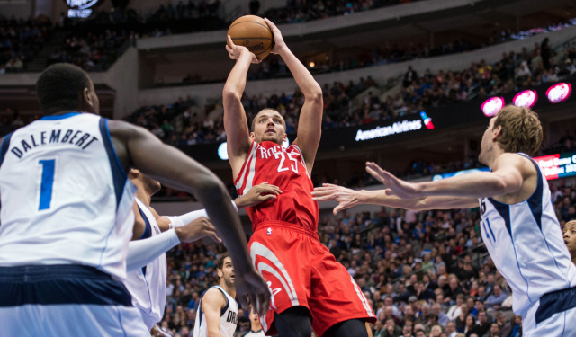 Houston is reportedly discussing signing and trading Chandler Parsons to Dallas.