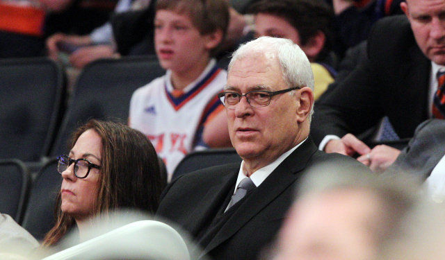 Phil Jackson is awaiting a response from Carmelo Anthony.