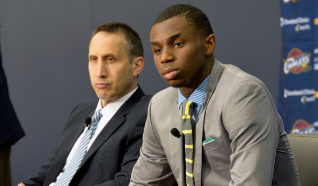 Andrew Wiggins could be starting next to LeBron James in a few months.