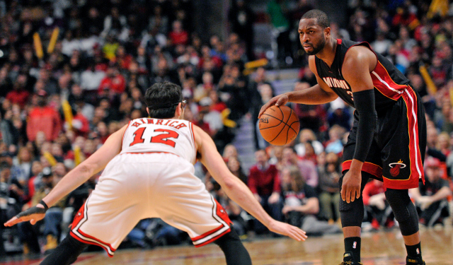 Would Dwyane Wade consider going to Chicago?