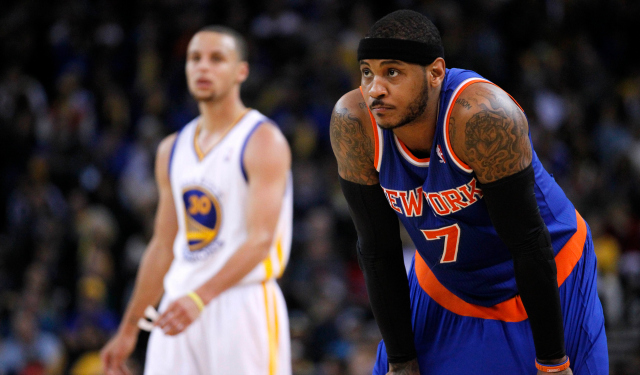 Carmelo Anthony is still considering the Knicks, Bulls and Lakers.
