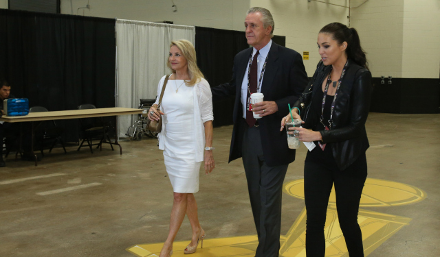 Pat Riley's job is suddenly a lot harder.