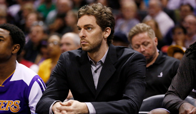 Pau Gasol is contemplating his options.