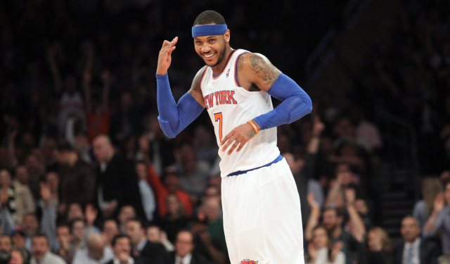 Carmelo is going to stay with the Knicks.