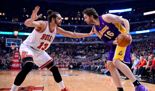 Pau Gasol and Joakim Noah are going to be teammates.
