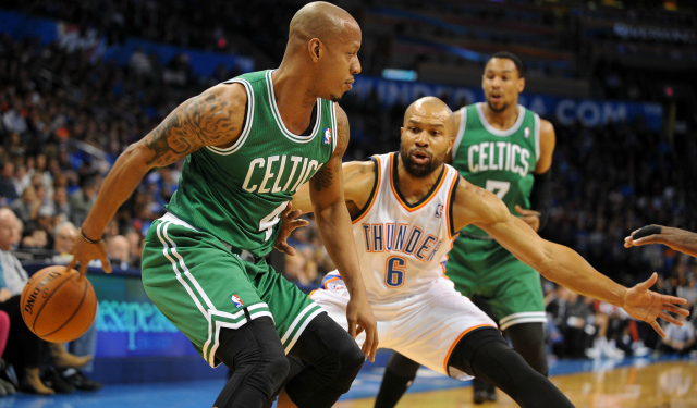 Keith Bogans wants to go out on his terms.  (USATSI)