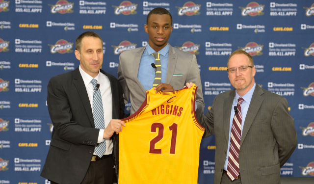 Andrew Wiggins is unsure of his future with Cleveland.  (USATSI)