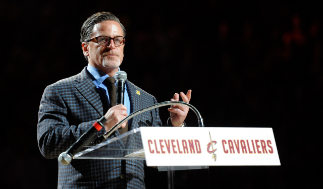 Dan Gilbert is totally cool with LeBron now.