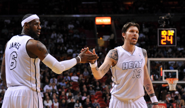 Mike Miller is reuniting with LeBron James.