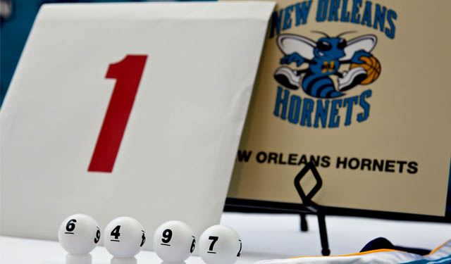 The NBA is looking into changing the lottery system.