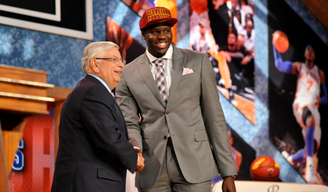 The Cavs shock the world by selecting Anthony Bennett first overall.