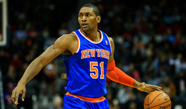 Metta World Peace might become a Knick again.