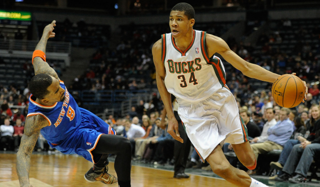 Giannis Antetokounmpo might play some point guard next season.