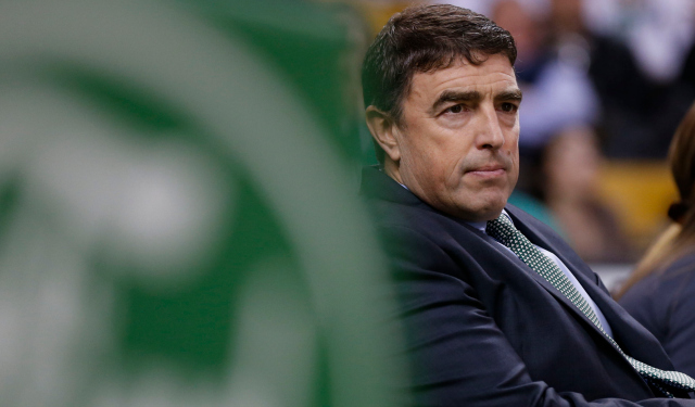 Celtics owner Wyc Grousbeck says he isn't always patient.